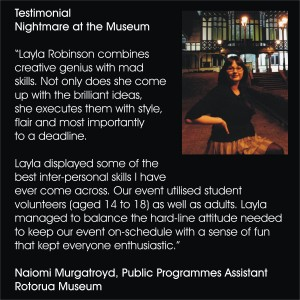 Layla Robinson - Nightmare at the Museum