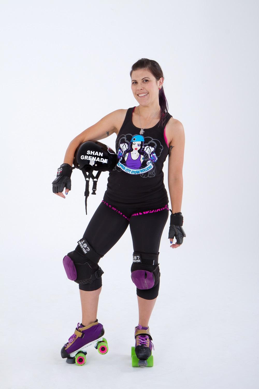 Shan Grenade - Rotorua Roller Derby Skater