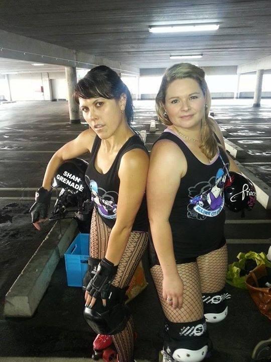 Rotorua Roller Derby Skaters