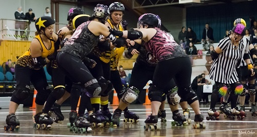 Rotoruas Roller Derby League in 2016