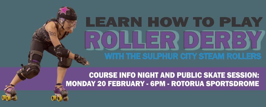 Join Rotorua's Roller Derby League