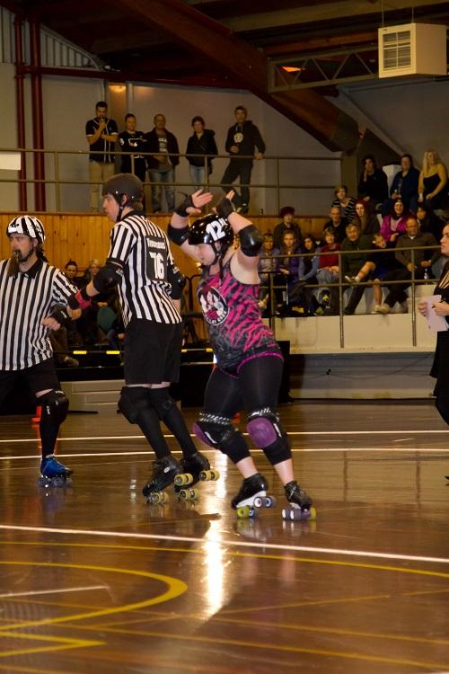Princess Die, Rotorua's Roller Derby skater