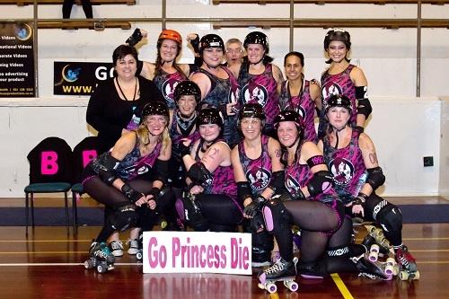 Slam Rock - Roller Derby in Rotorua